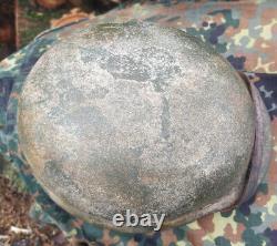 WWII German Helmet M35/SS Restored HQ Size 66