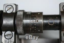 WWII German K98k ZF41/1 Sniper Scope Original