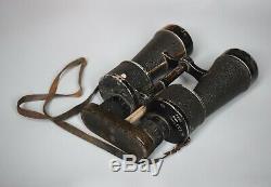 WWII German Kriegsmarine 7x50 Leitz BEH U-boat Binoculars Original Benutzer