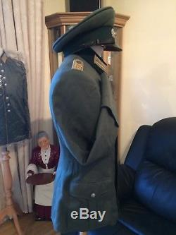 WWII German Lieutenants Tunic/Jacket 119th Infantry Regiment Original