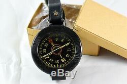 WWII German Luftwaffe Wrist Compass AK-39 FL23235 in Original Box