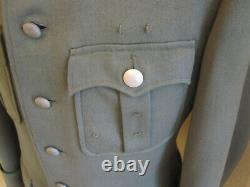 WWII German Mountain Troop Officer Piped Service Uniform Tunic Gebirgsjäger
