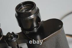 WWII German Zeiss 7x50 BLC Kriegsmarine Smooth Binoculars KM U-Boat Original WW2