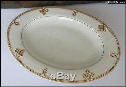 WWII ORIGINAL GERMAN ELITE PRINZ EUGEN DINNER PLATE withODAL RUNE XTR. RARE