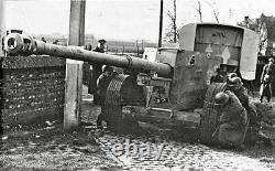 WWII Original German 88mm Flak 18/Tiger Tank/PaK 43 Artillery Shell
