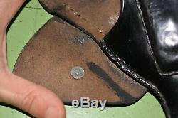 WWII WW2 Original German Gun Leather Holster (Walther, PPK, PP, RZM, Wehrmacht)