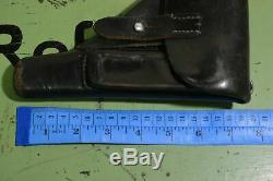 WWII WW2 Original German Leather Holster Akah Walther PPK PP Wehrmacht
