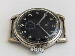 Wagner WWII Military Men's Watch German Airforce / Pilot Watch Urofa 58