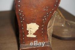 Walking shoes for German tropical uniform DAK mint condition 43 original WW2