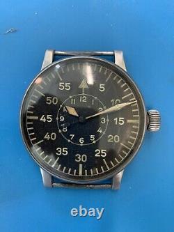 Wempe Military Pilot's German Army WW II Watch (301)
