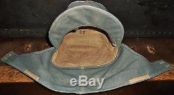 Wonderful Original WW2 German ELITE Officers M43 Field Cap Hat Uniform Helmet