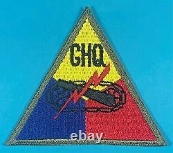 World War 2 Occupation, Armored forces GHQ, Full Emb, German Made, Mint Cond