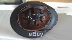 World War 2 WWII Double Decal German Luftwaffe Helmet 100% Original