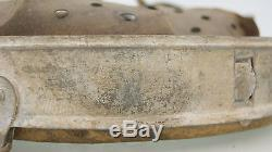 Ww2 German Helmet Liner Zinc Size 68/60, Original