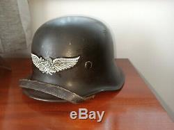 Ww2 German Luftschutz M34 helmet original