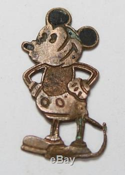 Ww2 German Luftwaffe unofficial badge mickey mouse original rare badge