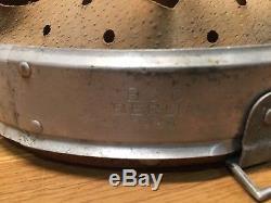 Ww2 German M31 Helmet Liner Original 1939 Dated Size 64 Reinforced Aluminium B&c