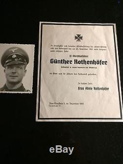 Ww2 German Original Elite Named Medals, Documents And Armband Lot