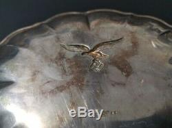 Ww2 German Plate Platter Luftwaffe Tray Original Must View