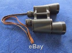 Ww2 Original German 1944 Military 10x50 Binoculars Rln+ Dienstglas By Carl Zeiss