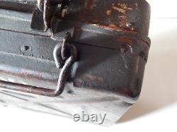 Ww2 Original German 8cm mortar CAMO box Gr. W 34 S. Mi 35 Camuflage S. GR. W. 34