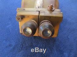 Ww2 Original German Afrika Korps 10x80 Flak Binoculars Cxn Dienstglas By Busch