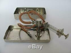 Ww2 Original German Elite Units Drp Direct Blood Transfusion Set B. Braun