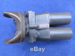 Ww2 Original German Military 10x80 Flak Binoculars Cxn Dienstglas By Emil Busch