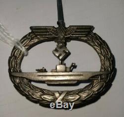 Ww2 Original German Navy Krigsmarine U-boat Breast Badge