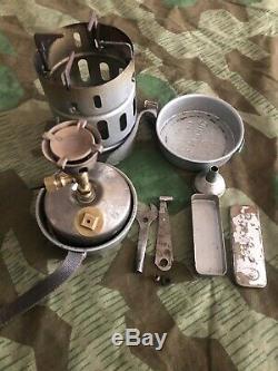 Ww2 Wwii German Gas Stove Juwel 34 Wehrmacht Field Original Full Set