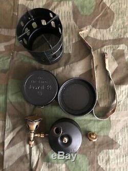 Ww2 Wwii German Gas Stove Juwel 34 Wehrmacht Original (paint In Black)