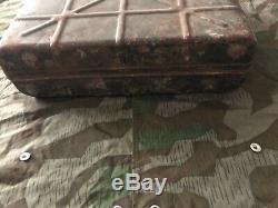 Ww2 Wwii German M24 Stick Box Case Wehrmacht Original Paint Marked Very Rare