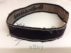 Ww2 german cuff title original