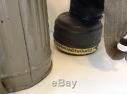 Ww2 german gas mask set (rare) (original) Nebelwurfer