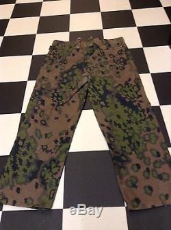 Ww2 german m43 oakleaf A trousers(original) spring pattern