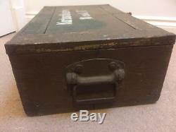 Ww2 german original Ammo Box In Normandy Camo