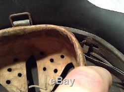 Ww2 german original m42 helmet. ET62