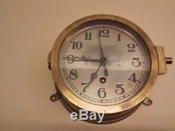 Ww2 kriegsmarine uboot clock navy german u boat borduhr original naval ship wh2