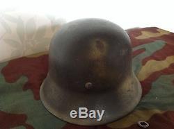 Ww2 original german combat helmet