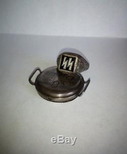Ww2 original old german ring silver