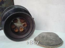 Wwii 1940 Original German Tank Gasoline Heater Drp