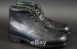 Wwii German Army Ankle Boots, Mint & 100% Original