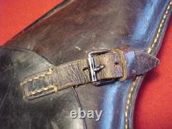 Wwii German Luger Holster Super Clean/serviceable 1941 Dated Estate Item
