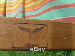 Wwii Luftwaffe German Fighter Pilot Original Deck Chair Battle Of Britain 1940