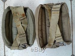 Wwii Original Fallschirmjäger German Paratrooper Knee Pads Knieschöner