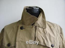 Wwii Original German Ally Mountain Troops Canvas Jacket V. Rare