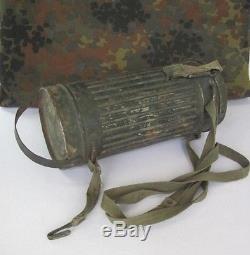 Wwii Original German Decontamination Gas Mask Canister Rare