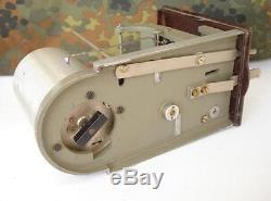 Wwii Original German Luftwaffe Barograph Marked Drp Bal Xtr. Rare