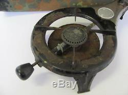 Wwii Original German Wehrmacht Drp Portable Field Gas Stove Norma
