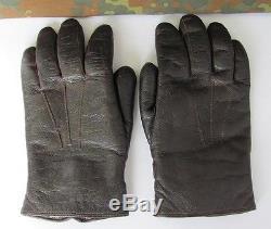 ad5d2c462c39f Wwii Original German Wehrmacht Officers Leather Gloves